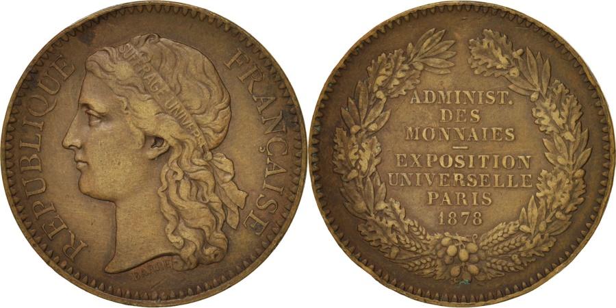 World Coins - France, Administration des Monnaies et Médailles, Exposition universelle