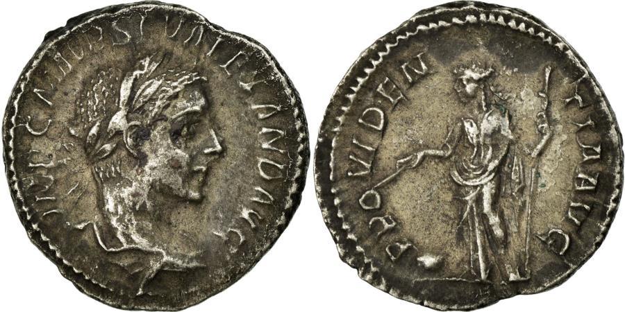 Ancient Coins - Coin, Alexander, Denarius, Roma, AU(50-53), Silver, Cohen:498