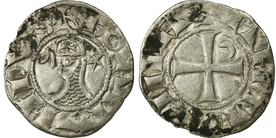 World Coins - Coin, Turkey, Crusader States, Denier, 1163-1201, Antioch, , Billon