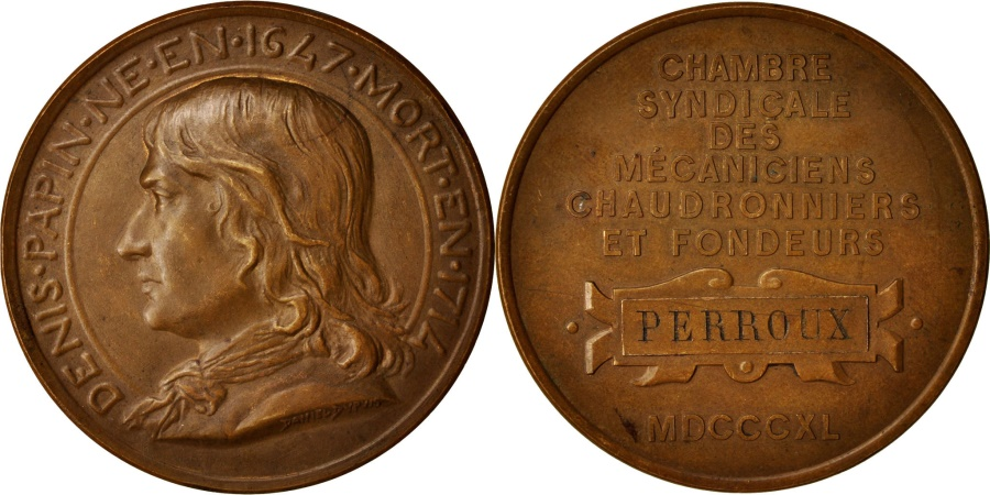France medal denis papin chambre syndicale des for Chambre de syndicale