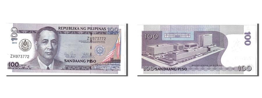 World Coins - Philippines, 100 Piso, 2012, KM #194f, UNC(65-70), ZH973772