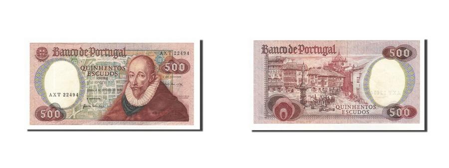World Coins - Portugal, 500 Escudos, 1979, 1979-10-04, KM:177a, EF(40-45)
