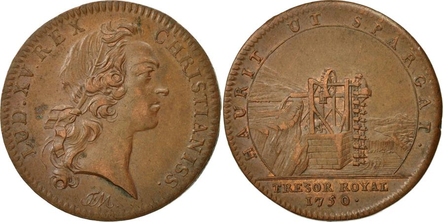 France token chambre du tr sor royal louis xv 1750 au for Chambre louis xv