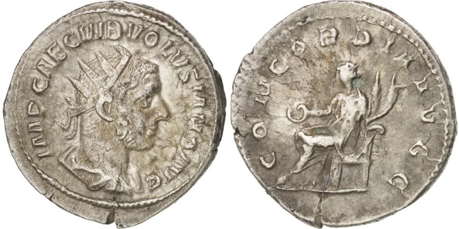 Ancient Coins - Volusian, Antoninianus, Rome, , Billon, RIC:168