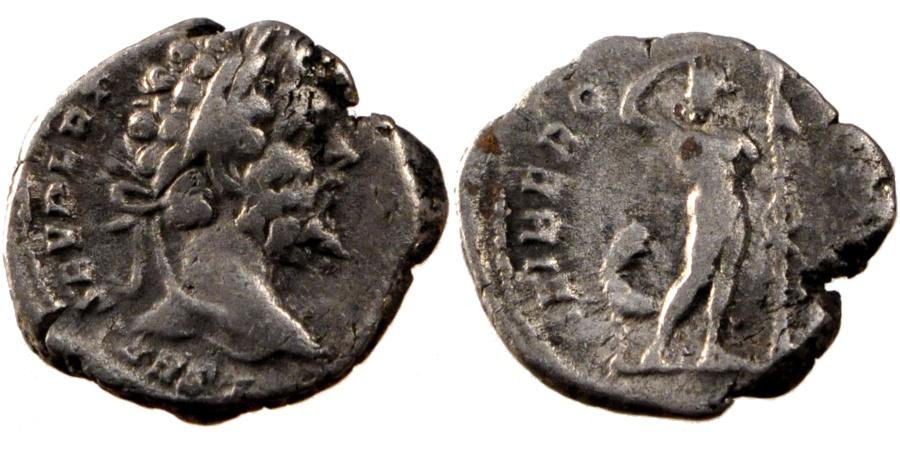 Ancient Coins - Septimius Severus, Denarius, Roma, , Silver, Cohen #305, 3.20