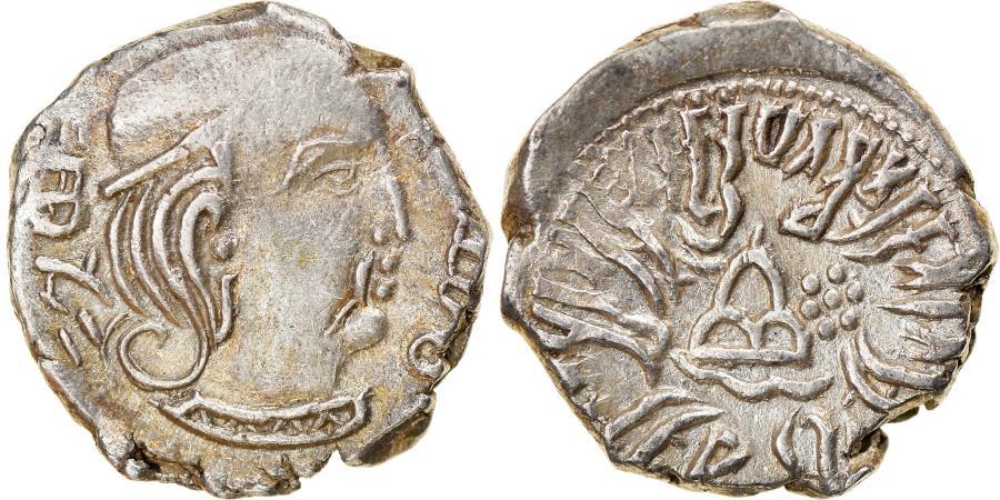 Ancient Coins - Coin, India, Western Satraps, Rudrasena III, Drachm, AH292 - AD370,