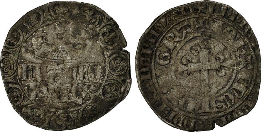 World Coins - Coin, France, Jean II le Bon, Gros à la Couronne, , Billon,Duplessy 305