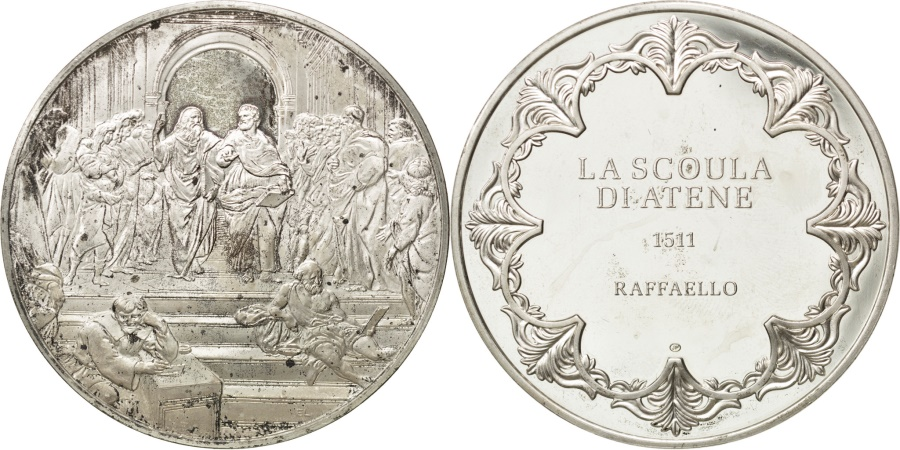 World Coins - FRANCE, French Fifth Republic, Medal, , Silver, 44, 32.10