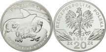 World Coins - Coin, Poland, 20 Zlotych, 2007, Warsaw, MS(65-70), Silver, KM:579