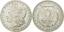 Us Coins - United States, Morgan Dollar, 1879, U.S. Mint, Philadelphia, VF(30-35), KM 110
