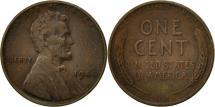 Us Coins - United States, Lincoln Cent, Cent, 1944, U.S. Mint, Philadelphia, EF(40-45)