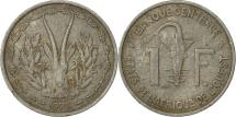 World Coins - West African States, Franc, 1975, Paris, VF(20-25), Aluminum, KM:3.1