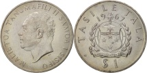 World Coins - Samoa, Tala, 1967, AU(55-58), Copper-nickel, KM:7