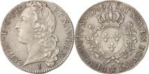 World Coins - France, Louis XV, 1/2 Écu au bandeau, 1/2 ECU, 44 Sols, 1749, Lille, AU(55-58)