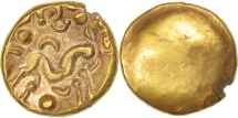 Ambiani, Area of Amiens, Stater, AU(55-58), Gold, Delestré:240