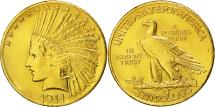Us Coins - United States, Indian Head, $10, 1911, Philadelphia, AU(50-53), Gold, KM:130