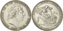 World Coins - Great Britain, George III, Crown, 1819, London, AU(55-58), Silver, KM:675