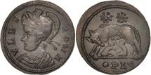 Ancient Coins - City Commemoratives, Follis, Lyons, MS(63), Bronze, RIC:247