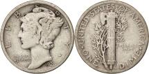United States, Mercury Dime, Dime, 1928, U.S. Mint, Philadelphia, VF(20-25)