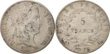 France, 5 Francs, 1813, Bayonne, VF(20-25), Silver, KM:694.9, Gadoury:584