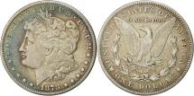 Us Coins - United States, Morgan Dollar, 1878, Carson City, EF(40-45), Silver, KM 110