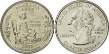 Us Coins - United States, Quarter, Alabama 2003, Denver, MS(65-70), Copper-Nickel Clad