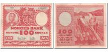 Norway, 100 Kroner, 1959, KM:33c, EF(40-45)