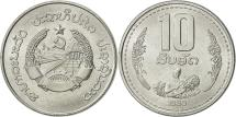 World Coins - Bangladesh, 10 Poisha, 1980, AU(55-58), Aluminum, KM:11.1