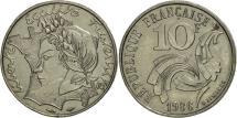 World Coins - France, 10 Francs, 1986, Paris, MS(60-62), Nickel, KM:E132, Gadoury:824