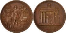 World Coins - France, Medal, Napoleon Ier , Traité de Presbourg rompu par l'Autriche, 1809