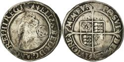 World Coins - Coin, Great Britain, Elizabeth I, 6 Pence, 1561, , Silver