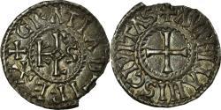 World Coins - Coin, France, Charles le Chauve, Denarius, 864-875, Orléans, , Silver