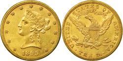 Us Coins - Coin, United States, Coronet Head, $10, Eagle, 1895, U.S. Mint, Philadelphia