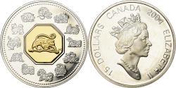 World Coins - Coin, Canada, Elizabeth II, 15 Dollars, 2004, Royal Canadian Mint,