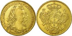 World Coins - Coin, Brazil, Maria I and Pedro III, 6400 Reis, 1785, Rio de Janeiro,