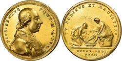 World Coins - Vatican, Medal, Pie VI, Jésus lavant les pieds de Saint-Pierre, An XV