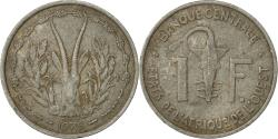 World Coins - West African States, Franc, 1975, Paris, , Aluminum, KM:3.1