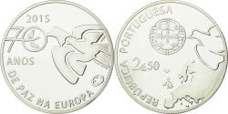 World Coins - Coin, Portugal, 2-1/2 Escudos, 2015, , Silver