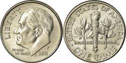 Us Coins - Coin, United States, Roosevelt Dime, Dime, 2011, U.S. Mint, Philadelphia