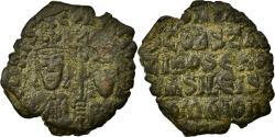 Ancient Coins - Coin, Basil I the Macedonian 867-886, Follis, VF(30-35), Copper