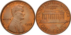 Us Coins - United States, Lincoln Cent, 1973, Philadelphia, , KM:201
