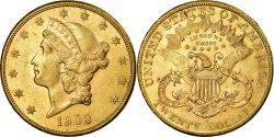 Us Coins - Coin, United States, Liberty Head, $20, Double Eagle, 1902, U.S. Mint, San