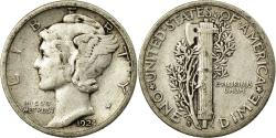 Us Coins - Coin, United States, Mercury Dime, Dime, 1924, U.S. Mint, San Francisco