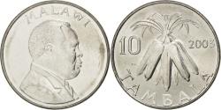 World Coins - MALAWI, 10 Tambala, 2003, KM #27, , Nickel Plated Steel, 23.6, 5.64