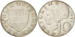 World Coins - Austria, 10 Schilling, 1958, Vienne, , Silver, KM:2882