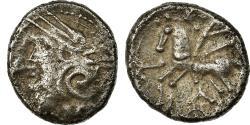 Ancient Coins - Coin, Kaletedoy, Lingones, Quinarius, EF(40-45), Silver, Delestrée:3195
