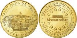 World Coins - France, Token, Touristic token, Saint-Paul de Vence - Collégiale n°1, 1999