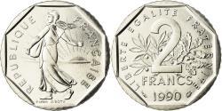 World Coins - Coin, France, Semeuse, 2 Francs, 1990, Paris, , Nickel, KM:942.1