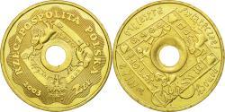 World Coins - Coin, Poland, Children, 2 Zlote, 2003, Warsaw, , Brass, KM:446