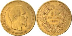 Ancient Coins - Coin, France, Napoleon III, 10 Francs, 1860, Strasbourg, , Gold